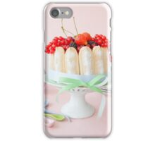 It's always time for cake iPhone Case/Skin