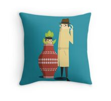 spyPhone Throw Pillow