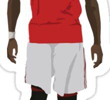 Paul Pogba Manchester United Return Sticker