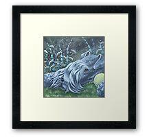Kerry Blue Framed Print