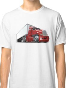 Cartoon cargo semi-truck Classic T-Shirt