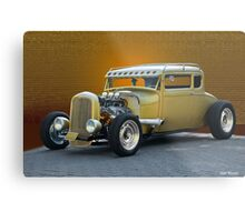 1930 Ford 'Midas Touch' Coupe Metal Print