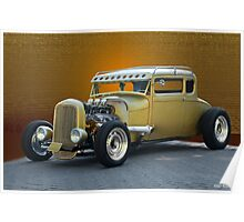 1930 Ford 'Midas Touch' Coupe Poster