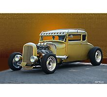 1930 Ford 'Midas Touch' Coupe Photographic Print