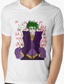 Joker - Hahaha Heh Mens V-Neck T-Shirt