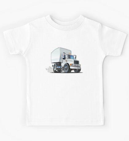 Cartoon delivery/cargo truck Kids Tee