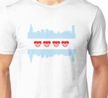Chicago Flag Cubs Skyline Unisex T-Shirt