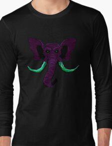 Blacklight Mammoth Long Sleeve T-Shirt