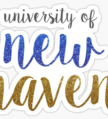University of New Haven Sticker