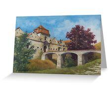 Sunny day at Svirzh Greeting Card