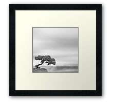 Above the sky Framed Print