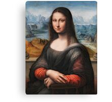 Highest Quality Mona Lisa in HDR Restored by LarcenIII Canvas Print