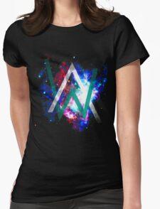 alan walker logo Womens Fitted T-Shirt