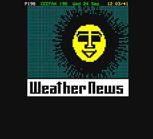 Pages From Ceefax - Weather News Unisex T-Shirt
