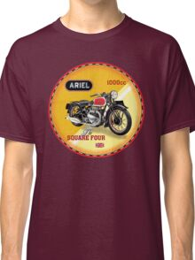 Ariel Square Four Motorcycles UK Classic T-Shirt