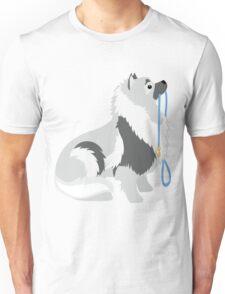 Keeshond Leash Unisex T-Shirt