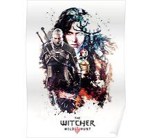 THE WITCHER WILD HUNT LOGO RBTR Poster