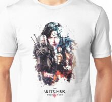 THE WITCHER WILD HUNT LOGO RBTR Unisex T-Shirt