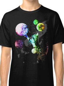 Space Cat with Planets Classic T-Shirt