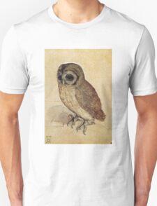 Albrecht Durer - The Little Owl 1506  Unisex T-Shirt