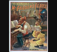 Performing Arts Posters The old reliable McFaddens flats everything new 0091 Unisex T-Shirt