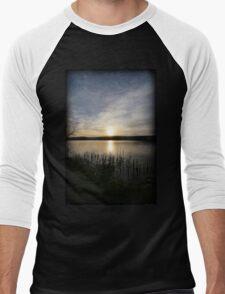 Side Wide Sunset Men's Baseball ¾ T-Shirt