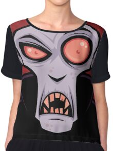 Count Dracula Women's Chiffon Top