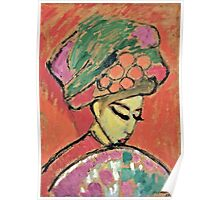 Alexei Jawlensky - Young Girl With A Flowered Hat  Poster