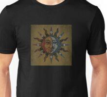 Vintage Celestial mosaic Sun & Moon Unisex T-Shirt