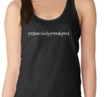 The Road Goes Ever On and On Women's Tank Top