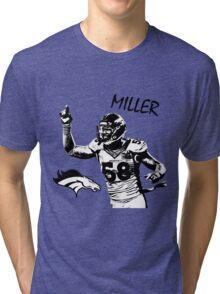 Von Miller - Denver Broncos - NFL Tri-blend T-Shirt