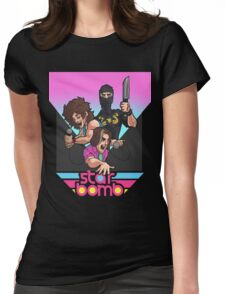 Starbomb Womens Fitted T-Shirt