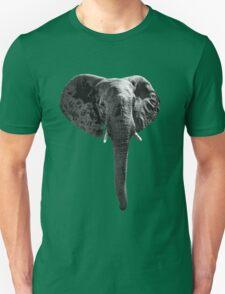 SAFARI PROFILE - ELEPHANT WHITE EDITION Unisex T-Shirt