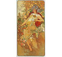 Alphonse Mucha - Autumn 1896 Photographic Print