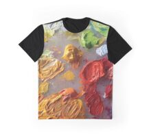 Painting Palette Graphic T-Shirt