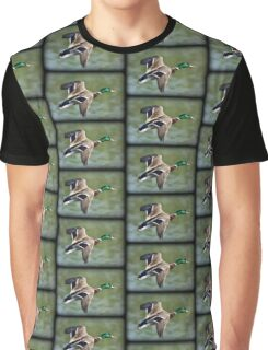 May Minsi Mallard Flight Graphic T-Shirt
