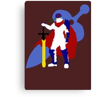 Super Smash Bros Ike (White) Canvas Print