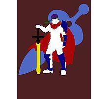 Super Smash Bros Ike (White) Photographic Print