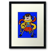 Time Adventure! Framed Print