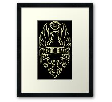 Bianchi Vintage Racing Bicycles Italy Framed Print