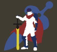 Super Smash Bros Ike (White) by Dalyz