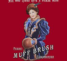 Pucker's Muff Brush Extraordinaire by KEIJAN