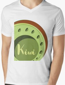 Kiwi Mens V-Neck T-Shirt