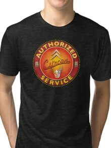 Authorized Vintage Citroen Sign France Tri-blend T-Shirt