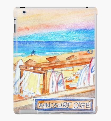 Windsurf Café. Carcavelos. iPad Case/Skin