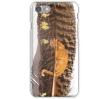 Orange Cat Watching iPhone Case/Skin
