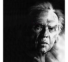 Jean-Louis Trintignant - conté drawing Photographic Print
