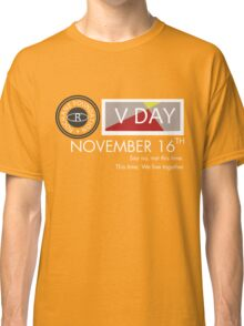 Support V-Day Classic T-Shirt