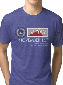 Support V-Day Tri-blend T-Shirt