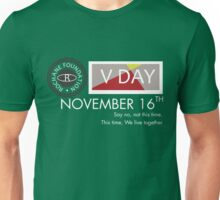 Support V-Day Unisex T-Shirt